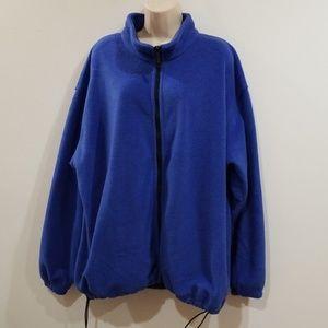 Saint John's Bay Active Jackets & Coats - SJB sport women's blue fleece sweat jacket
